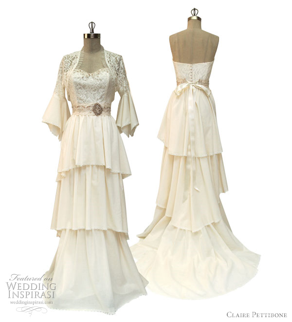 claire pettibone 2012 louisa wedding dress
