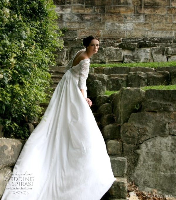 Joe challita couture wedding dresses 2011 wedding inspirasi for Lebanese wedding dress designers