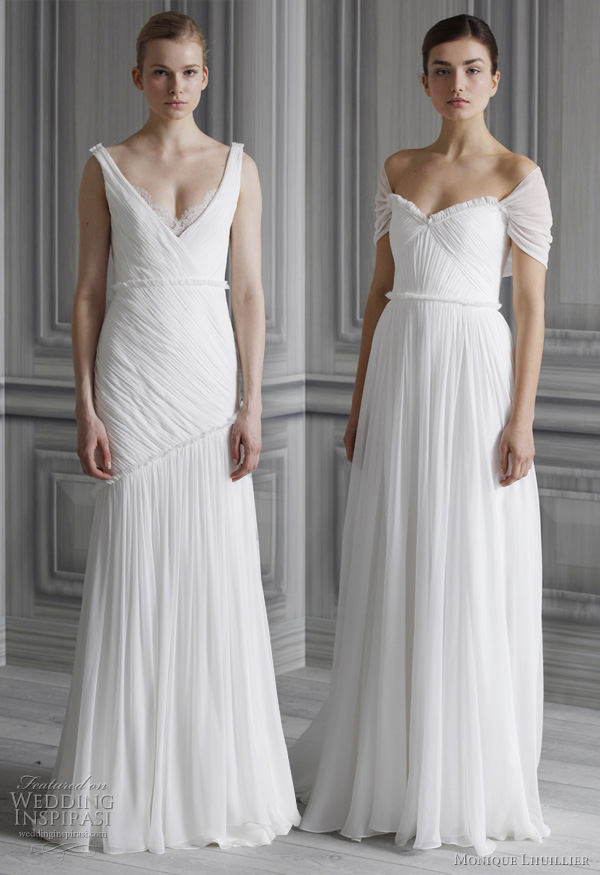 monique lhuillier bridal 2012