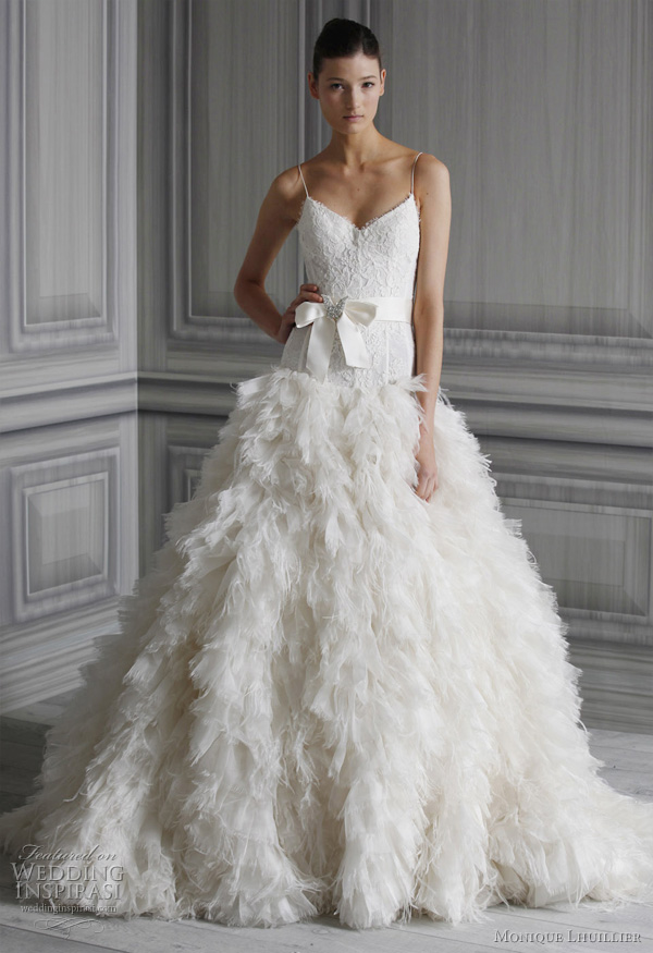 monique lhuillier wedding dresses 2012 - Legend bridal gown