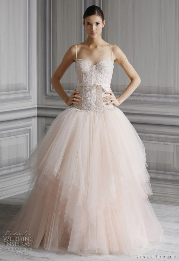 Monique Lhuillier Wedding Dresses Spring 2012 Bridal Collection Wedding Ins