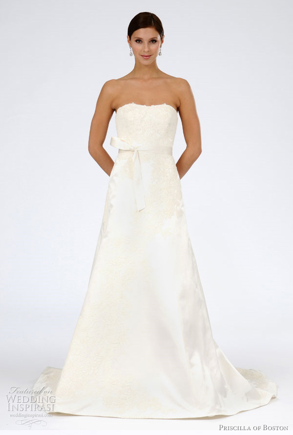Priscilla of Boston Wedding Dresses Spring 2012 Bridal Collection ...