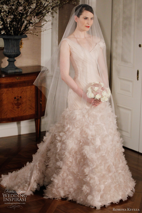 Romona Keveza Couture Wedding Dresses Spring 2012 Bridal Collection