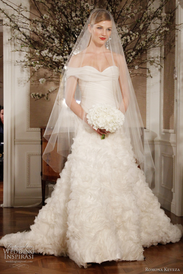 romona keveza wedding dresses 2012 bridal
