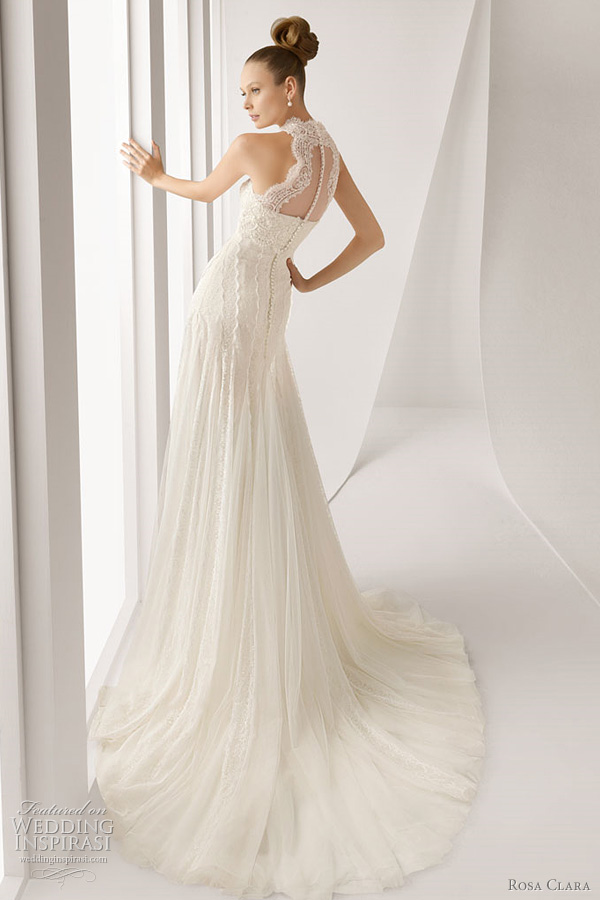 rosa clara 2012 alan lace wedding dress