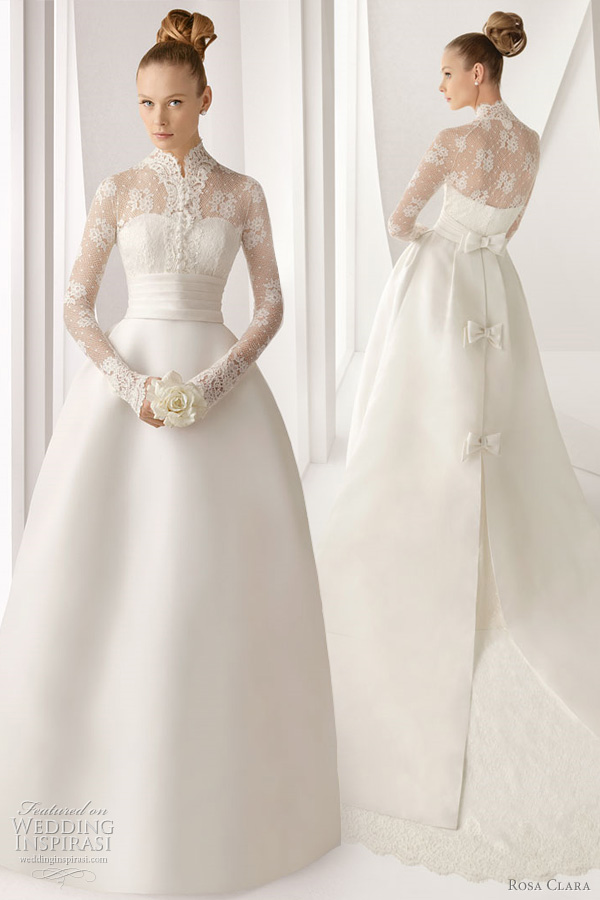 rosa clara 2012 lace wedding dress adorno