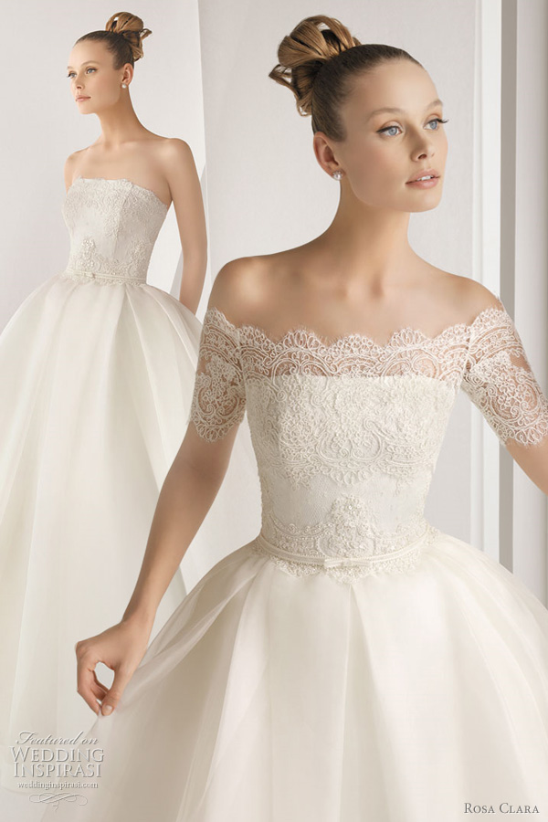 Rosa clar wedding dresses 2012 advance collection lace for Wedding dress rosa clara