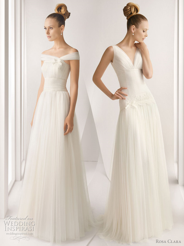 rosa clara dresses 2012 bridal - adagio and actual wedding gowns