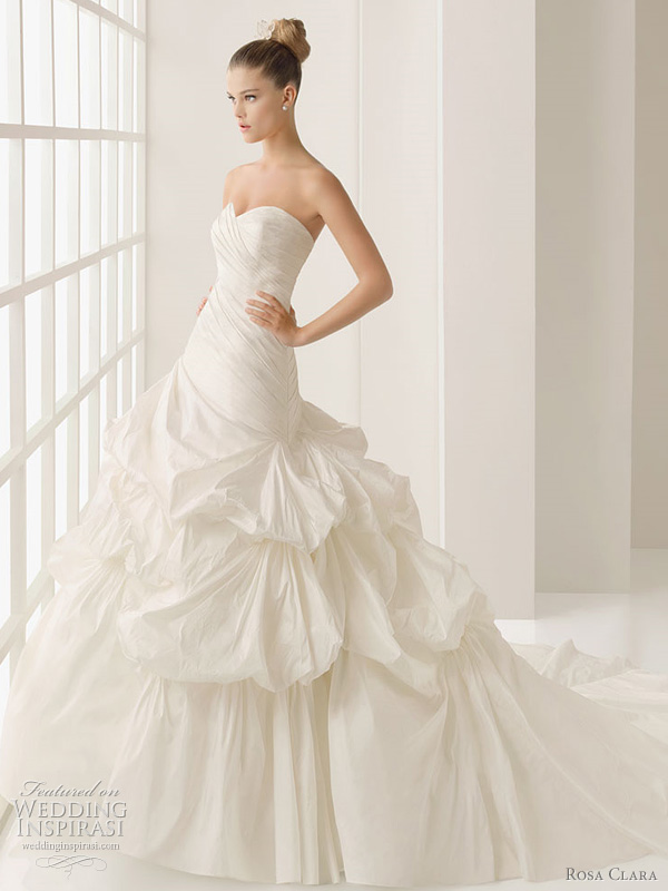 rosa clara wedding dress 2012 laya