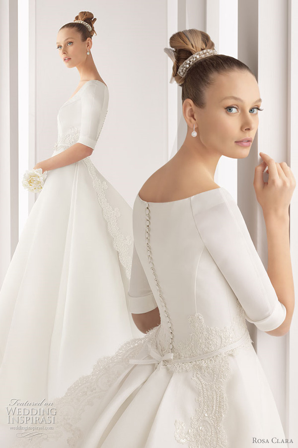 rosa clara 2012 wedding dresses color bridal gowns and more
