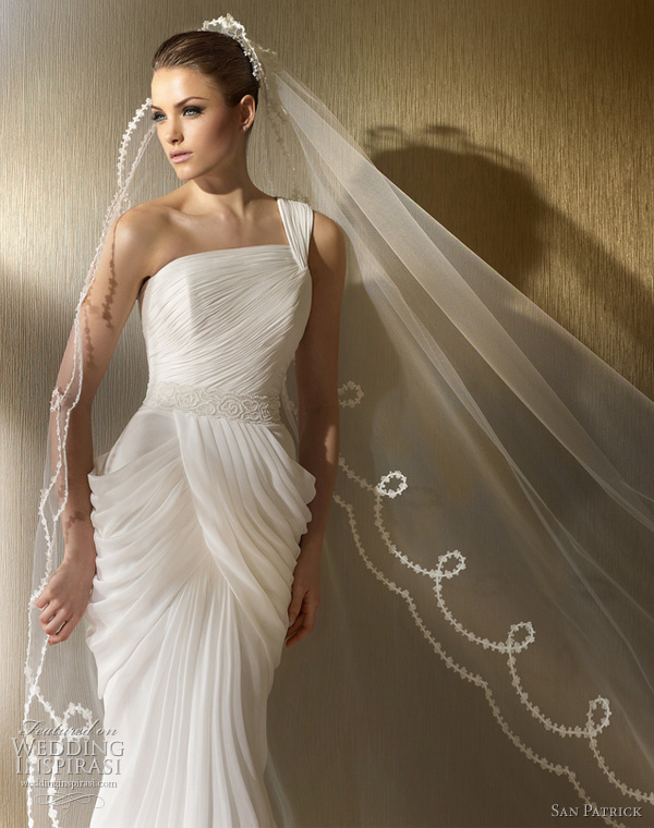 San patrick wedding dresses 2012 advance bridal collection for Wedding dresses and veils