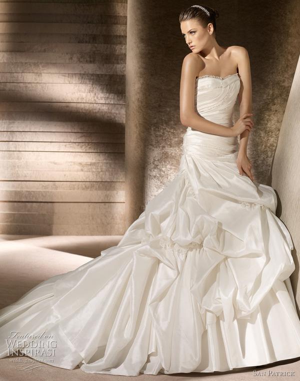 San Patrick Wedding Dresses 2012 Advance Bridal Collection ...