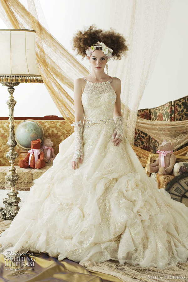stella de libero 2012 2011 - sweet wedding dresses kawaii