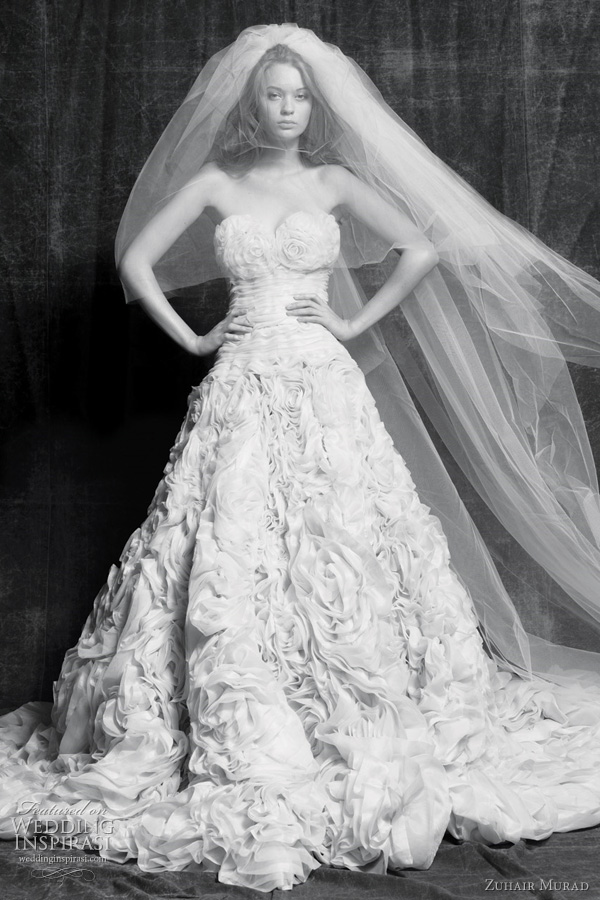 zuhair murad wedding dresses 2011 - orchidia bridal gown