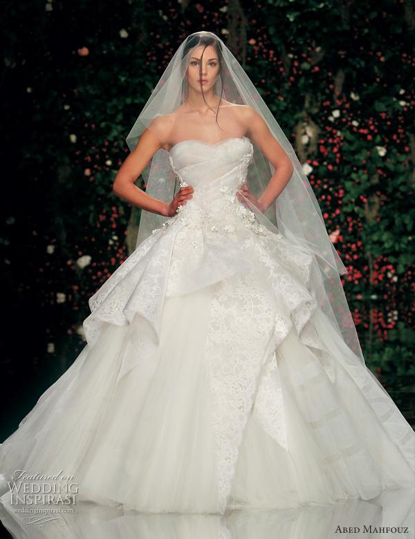 Abed Mahfouz Wedding Dress 2011