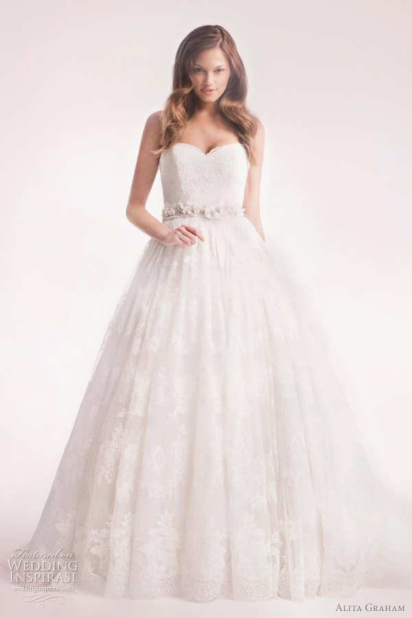 alita graham 2012 wedding dress