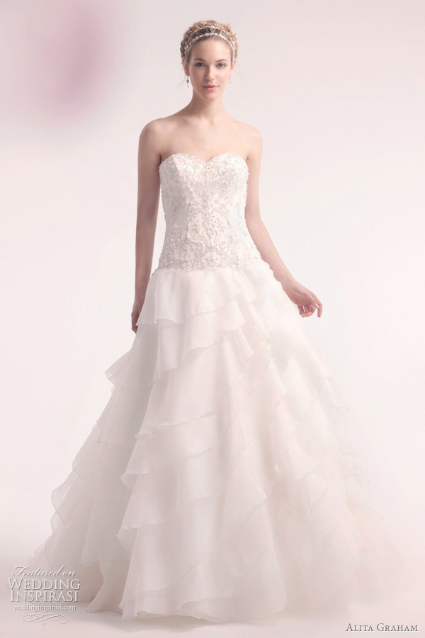 alita graham wedding dress 2012