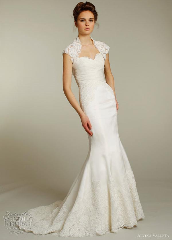 alvina valenta 2012 weddding dress 9153