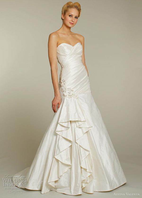 alvina valenta 9155 wedding dress 2012