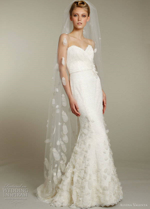 alvina valenta wedding dress 2012