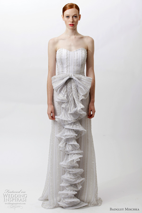 Badgley Mischka Resort 2012 Dresses Wedding Inspirasi