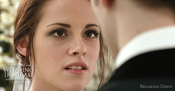 bella swan wedding breaking dawn - kristen stewart  twilight character will wed in a Carolina Herrera wedding dress