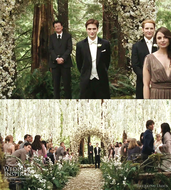 edward cullen and bella swan wedding twilight breaking dawn