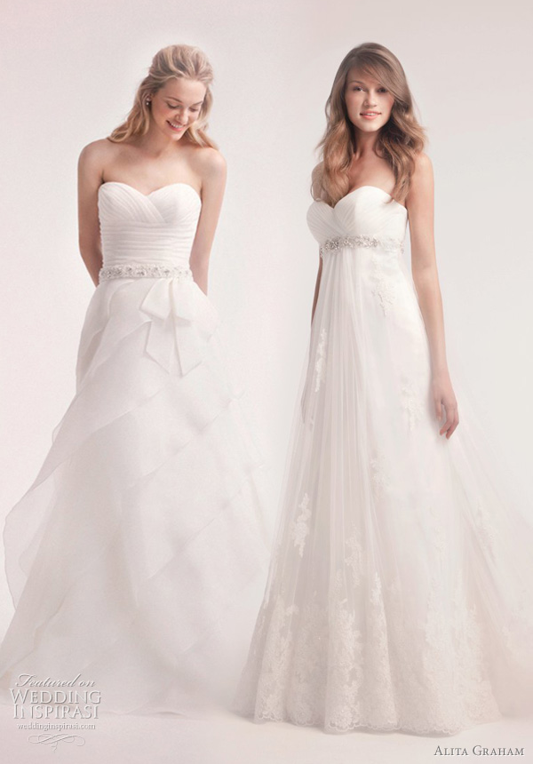 belted wedding dresses alita graham