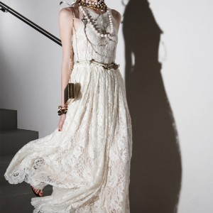 boho chic wedding dress lanvin 2012