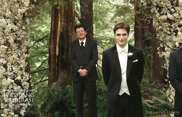 breaking dawn wedding scene edward cullen