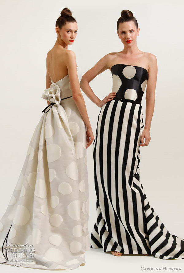 carolina herrera resort 2012 dresses