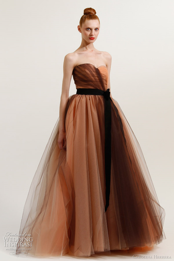 carolina herrera wedding dress 2012 dress