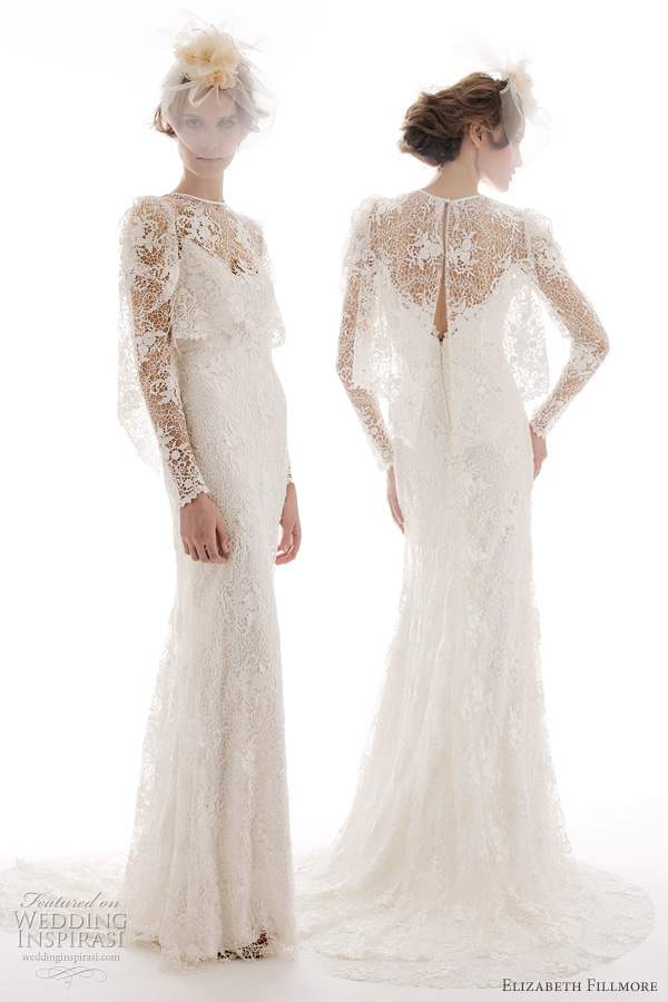 elizabeth fillmore milla spring 2012 wedding dresses
