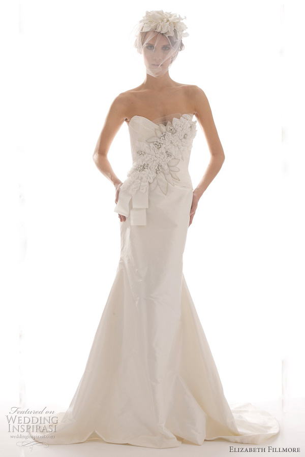 elizabeth fillmore spring 2012 bridal - Analise wedding dress