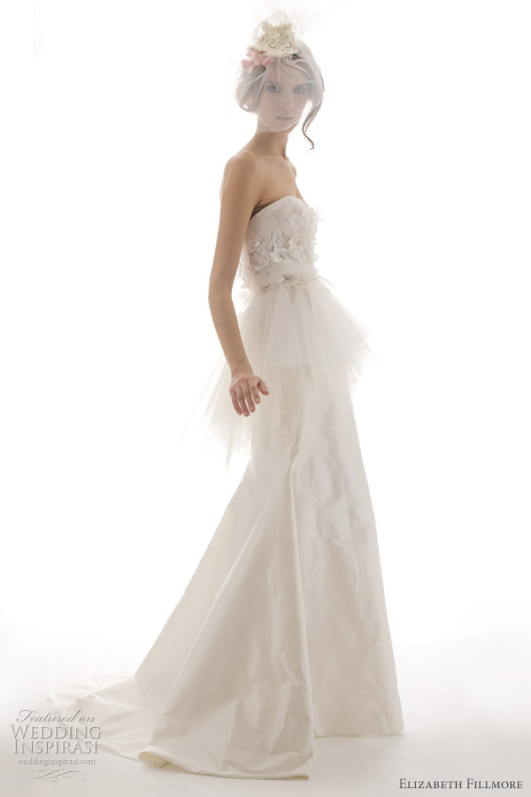 Elizabeth Fillmore Spring 2012 Wedding Dresses Wedding Inspirasi