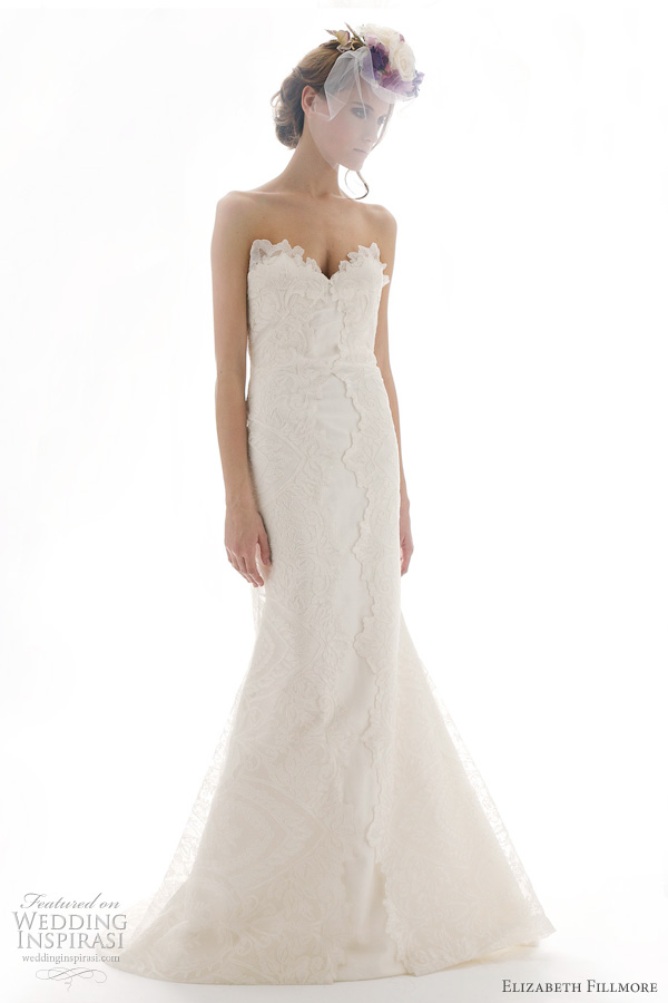 elizabeth fillmore wedding dresses spring 2012