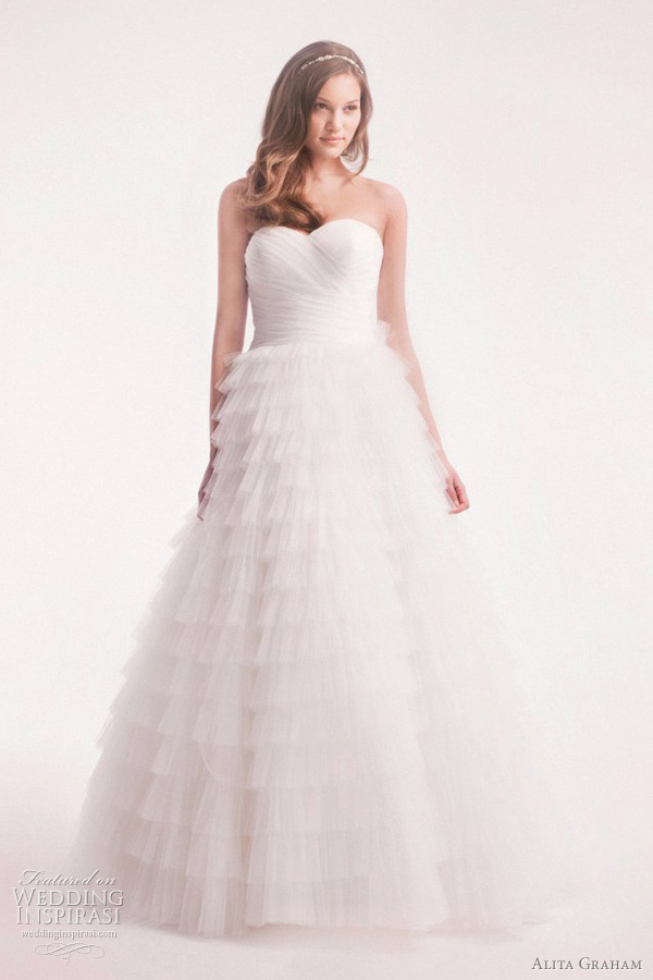 kleinfeld wedding dress alita graham 2012