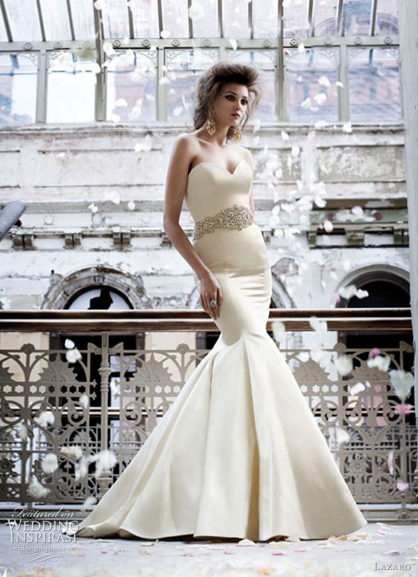 lazaro 3166 fall 2011 wedding dresses