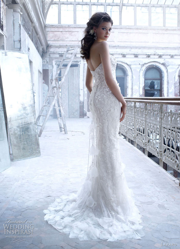 lazaro fall 2011 wedding dress style lz3156
