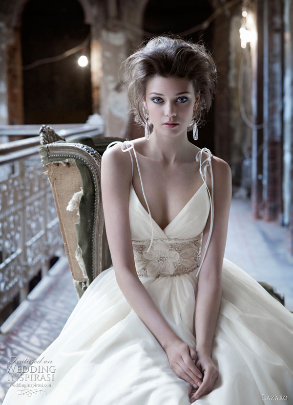 lazaro wedding dresses fall 2011 style 3165