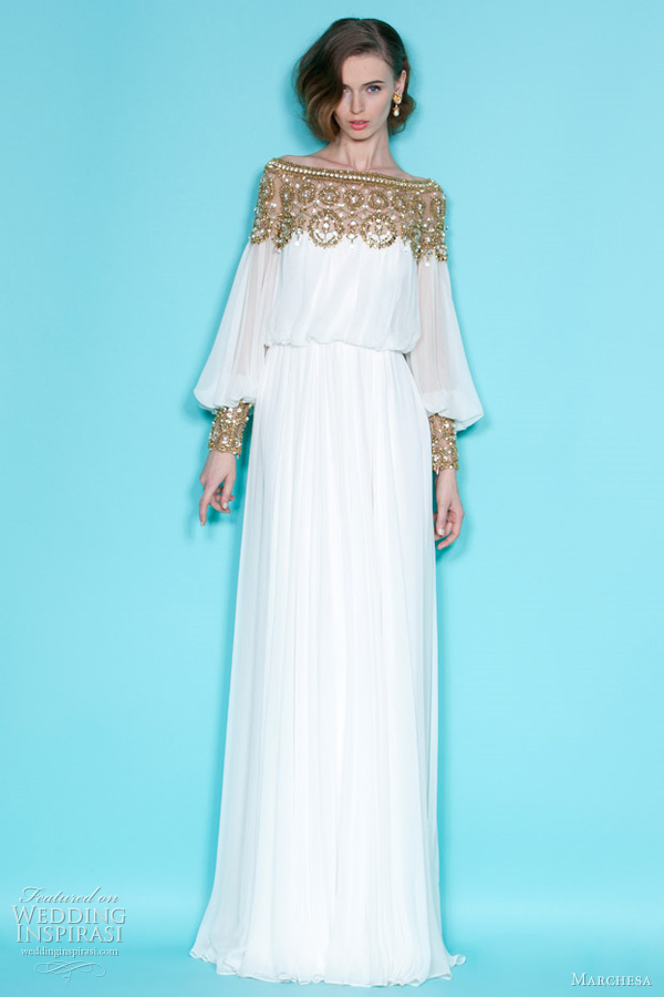 Marchesa Resort 2012 Collection | Wedding Inspirasi