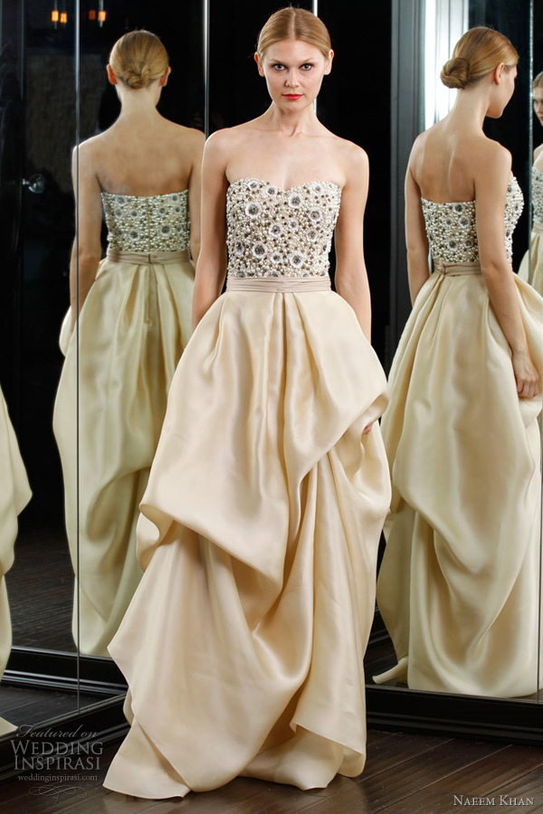 naeem khan resort 2012 - wedding dress inspiration