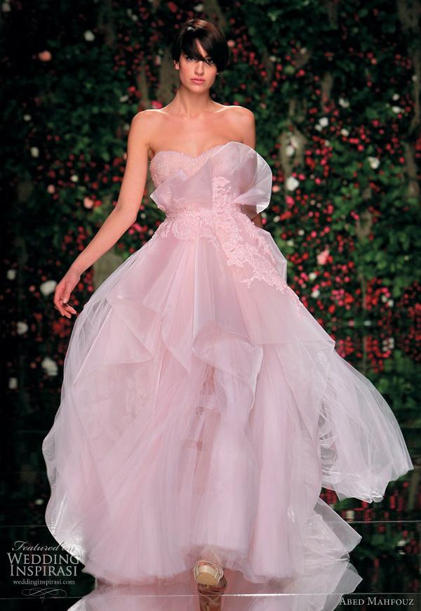 Abed Mahfouz Spring 2011 Couture Dresses Wedding Inspirasi