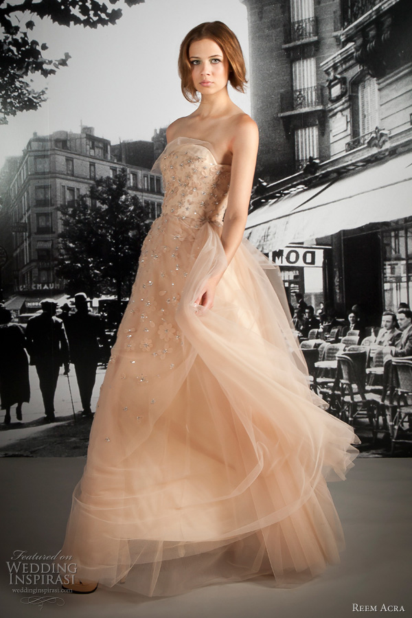 reem acra resort 2012 wedding dress