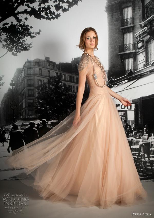 Reem Acra Resort 2012 Collection Wedding Inspirasi