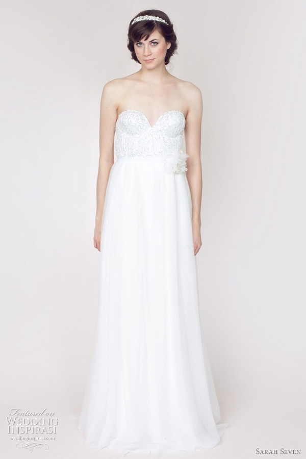 Sarah seven bridal gown spring 2012 collection   sparkle fade wedding dressSarah Seven Wedding Dresses Spring 2012 Bridal Collection  . Sarah Seven Wedding Dresses. Home Design Ideas