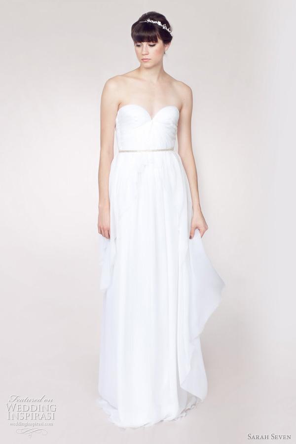 Sarah Seven Wedding Dresses Spring 2012 Bridal Collection | Wedding ...