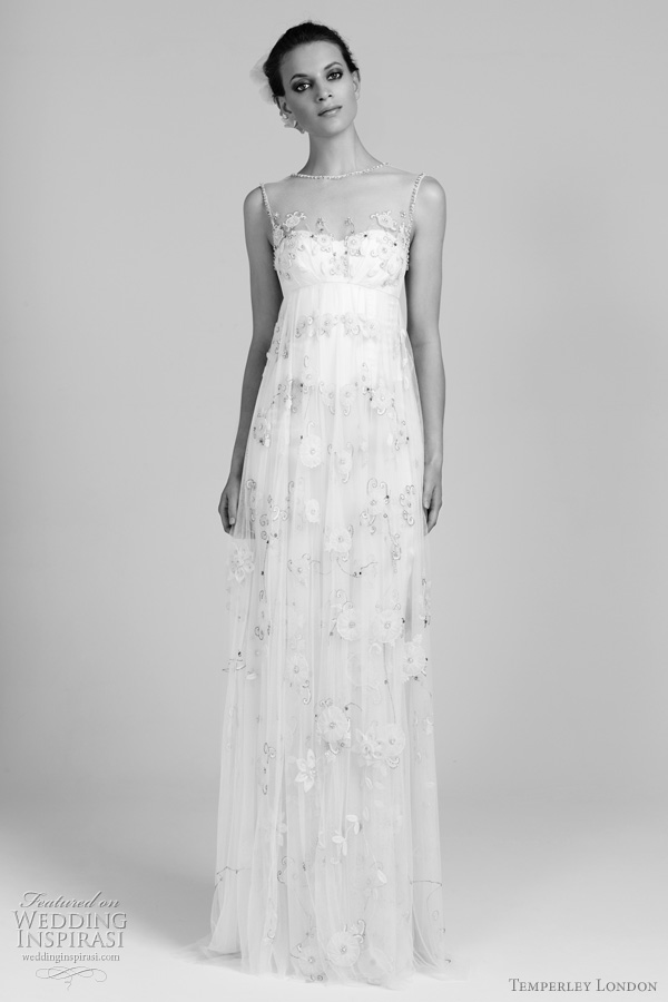 temperley london 2012 lilian wedding dress