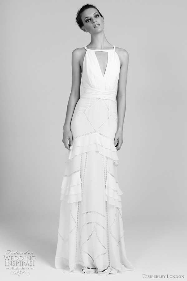 temperley london bridal 2011 2012 showring wedding dress
