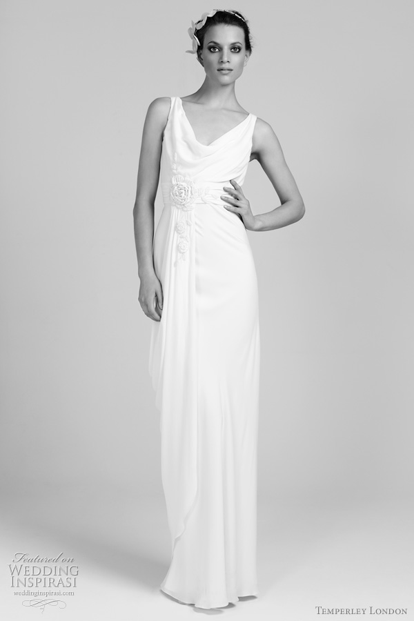temperley london bridal 2011-2012 collection  - chloe wedding dress